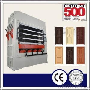 Multi-layer Door Skin Press Machine/ Door Skin Melamine Veneer/Door Skin Press