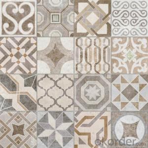 Glazed Porcelain Tile Cement Stone Series DECOR2