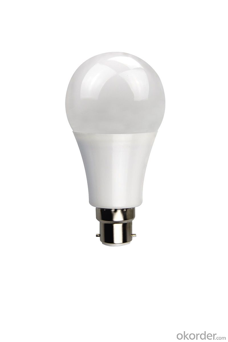 LED Bulb Light E27/B22  3000k-4000K-5000K-6500k A60 7W 630LM CRI 80 PF0.9 Non Dimmable
