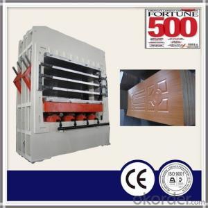 Melamine Door Skin Hot Press Machine / MDF Door Skin Hot Press Machine