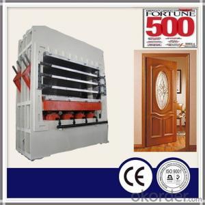 800T 4 Layers MDF Mold Door Skin Hot Press Machine