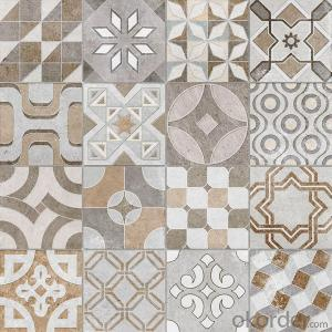 Glazed Porcelain Tile Cement Stone Series DECOR1