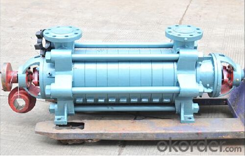 Multistage Centrifugal Water Pump for Portable Water