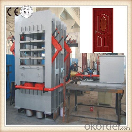 Wood Door Hot Press Machine / Wood Panel Door Hot Press / Woodworking Skin Press for Door