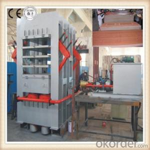 Moulded Door Skin Press Melamine Door Skin Press Machine