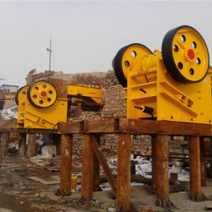 Stone Jaw Crusher PEX250*750 Primary Small Mini Rock