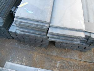 Hot Rolled Seel Flat Bars with Material Grade Q235/SS400