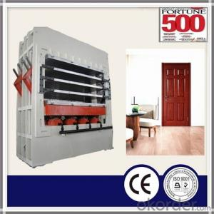 Melamine MDF Door Skin / HDF Moulded Door Skin Hot Press / Hydraulic Press for Melamine Door Skin