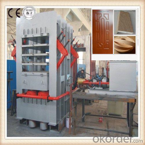 MDF Laminate Door Skin Press mMachine / Wooden Door Skin Lamination Press Machine
