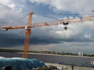 Tower Crane for Sale 75m 360 degree rotate jib hammerhead QTZ 7550
