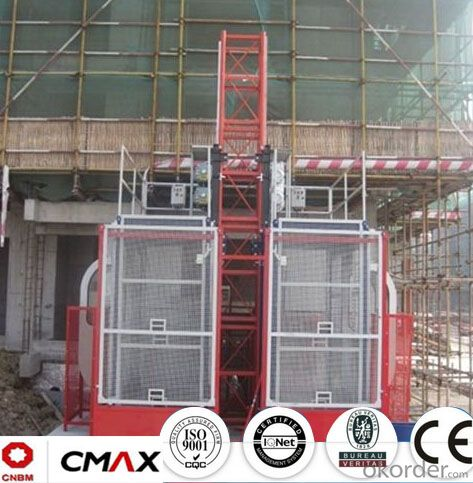 Building Hoist Hot Galvanizing Mast Section Spare Parts with 5.4ton Capacity