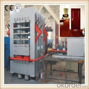 Veneer Moulded Door Skin / Press Machine for Door Skin PB/ Machine for Panel Wooden Doors