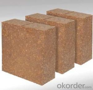 80% Al2O3 high alumina brick high alumina refractory brick