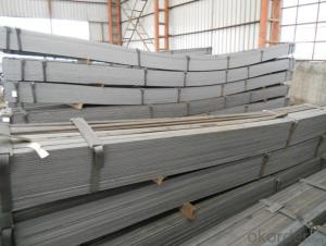 Hot Rolled Steel Flat Bars with Material Grade Q235