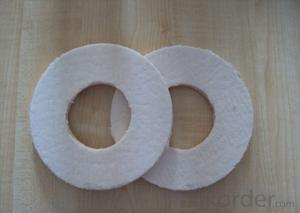 Ceramic fiber paper for heating insulation
