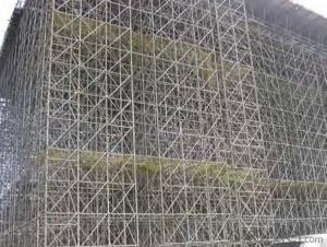 Steel-tube  Scaffolding with Painting for Construction
