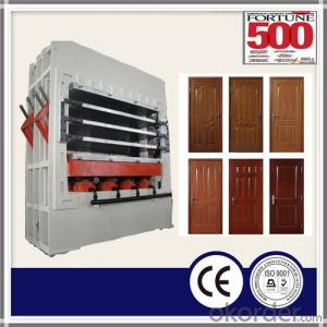 Moulding Laminated Door Skin Press Machine