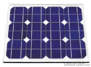 55W18V Mono Solar Panel,High Quality,Hot Sales