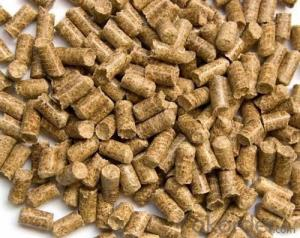 Biomass Pellet  Made by ricehusk  calorific value 3900~4800 Kcal /kg