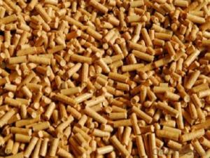 Biomass Pellet  Made by Wood Chips calorific value 3900~4800 Kcal /kg