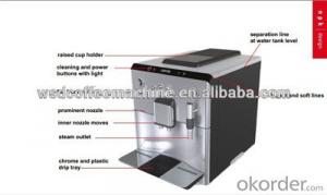 Plus Espresso Maker Fully Automatic Machine in China