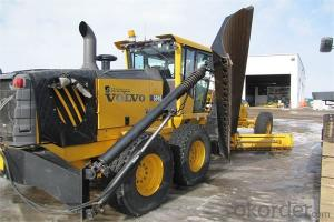 Motor Grader (MG165)CE 1500KG  with China