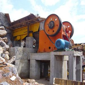 Stone Jaw Crusher PEX250*750 15-30 t/h Mini