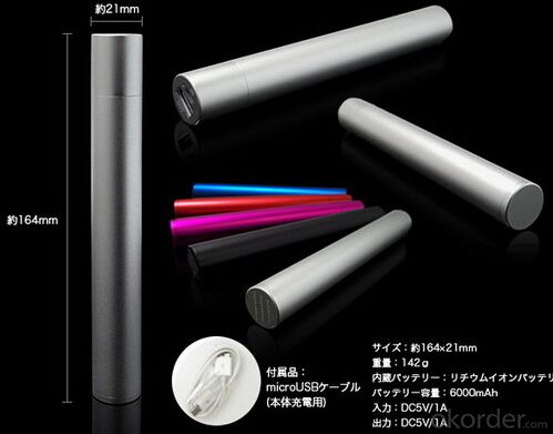 Portable Pan Stickl Usb Power Bank Charger New Popular
