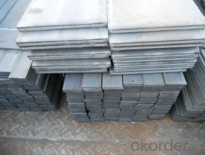 Hot Rolled Seel Flat Bars with Material Grade Q235