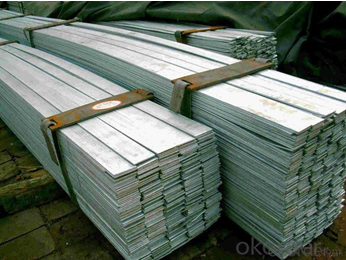 Stainless Galvanized Flat Bar of  High Quanlity  with Leigth 6M/12M