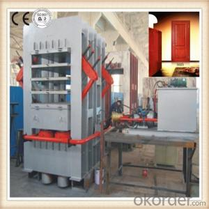 Door Skin Hot Press Machine / Hydraulic Wooden Door Hot Press Machine