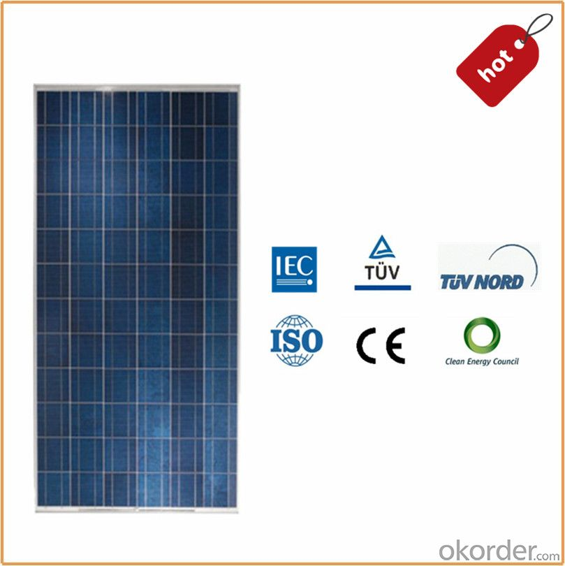 250w Poly Solar PV Panels with TUV  and UL Certification