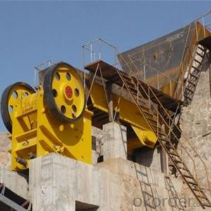 Stone Jaw Crusher PEX250*1000 for Laboratory