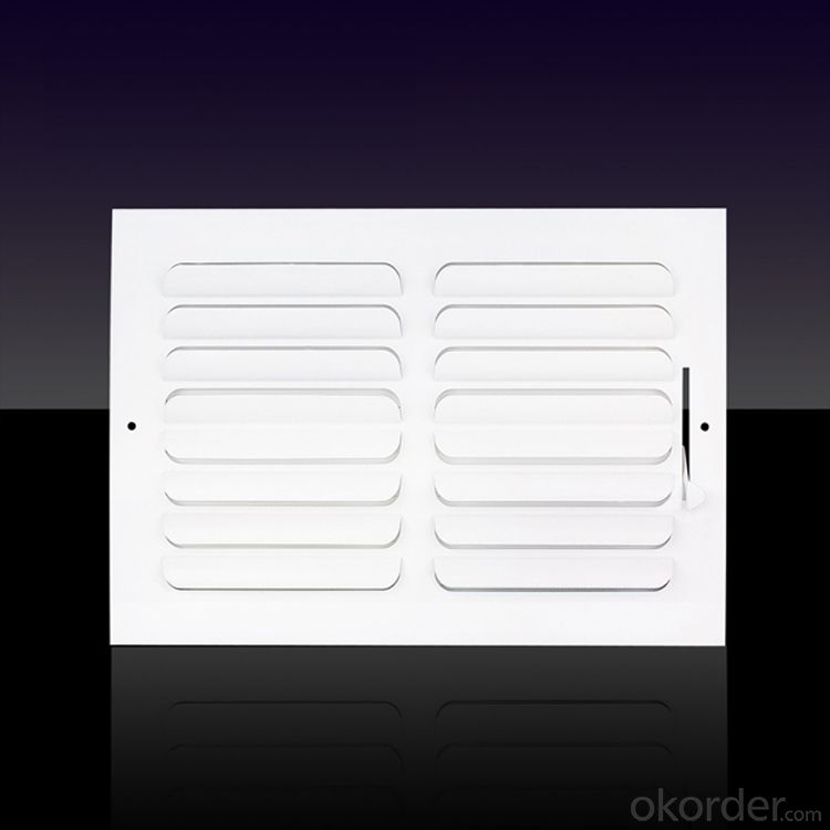 2 Way Curved Blade Air Vent Diffusers for Air Conditioning use