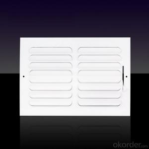 linear air vent diffusers for air conditioning use