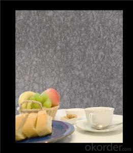 Fabric Backed Wallcovering Water Resistant Good Quality Fabric Based Vinyl Wallcovering