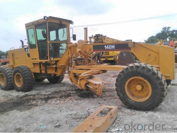 Motor Grader Used Caterpillar 120h  for Sale