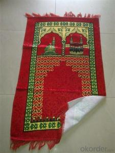 Cheap Muslim Prayer Rug Portable for Travel with Compass