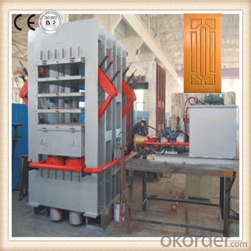 Hydraulic Hot Press Machine Press Door Skin