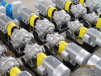 Double Suction Centrifugal Water Pump for Pump Station