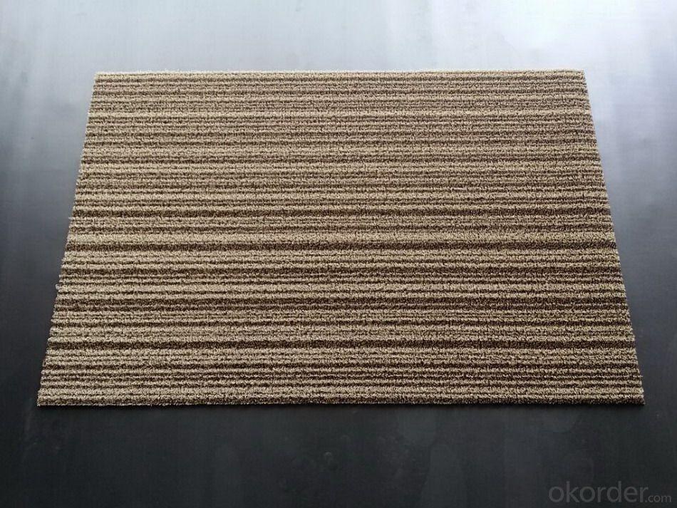 Woven Vinyl Floor Carpet, PVC Floor Tile