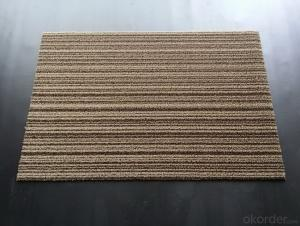 Woven Vinyl Floor Carpet, PVC Floor Tile