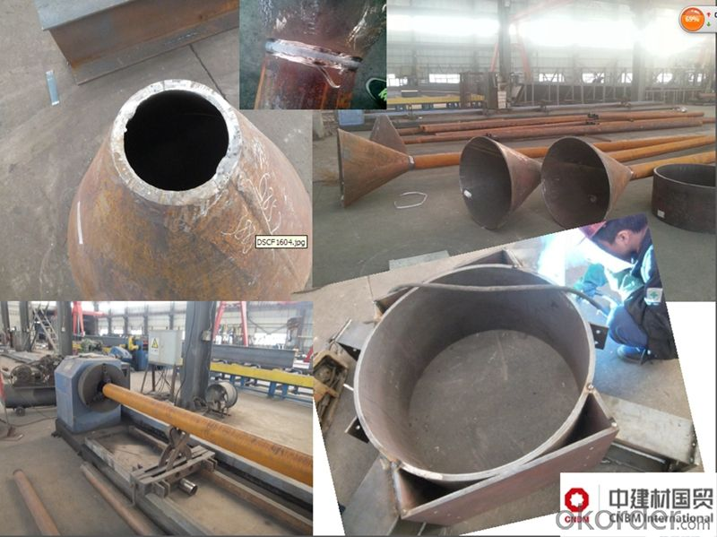 Heavy Steel Structure Workshop Steel Frame Plant Low Cost