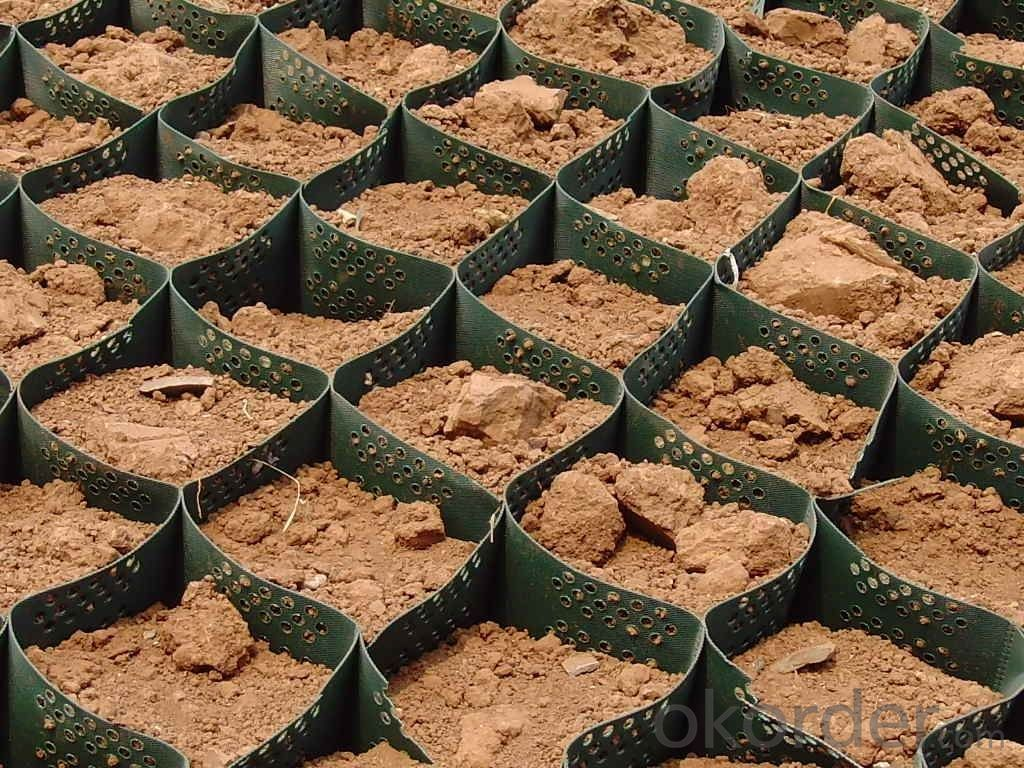 Plastic  Grid Used for Car Parking & Lot Grass Protection