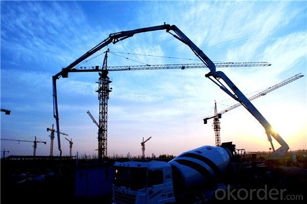 Tower Crane for Sale,Tower Crane Price Luffing Jib Tower Crane with QTD160