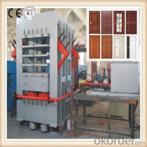 Double Side Veneering Door Hot Press Machine