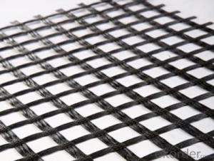 Plastic PP Biaxial Geogrid with CE certificate for Road construction