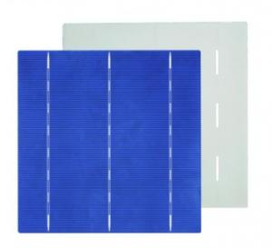 Monocrystal Solar Energy Cell 156*156mm with18.5% Efficiency