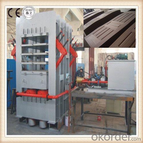 Commercial Door Skin Hot Press Machinery