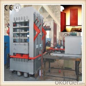 Laminate Machine for Melamine Door Skin and Natural Wood Door Skin